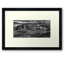 Ballachulish boathouses Framed Print