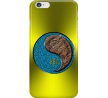 Cancer & Monkey Yang Earth iPhone Case/Skin