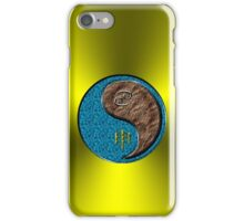 Cancer & Monkey Yang Earth iPhone Case/Skin