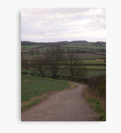 Bosworth Battlefield Canvas Print
