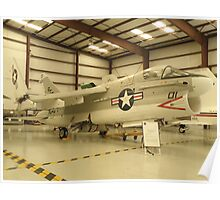 Vought A-7 Corsair II Poster