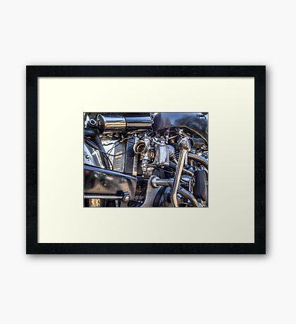 Vincent HRD Engineering Framed Print