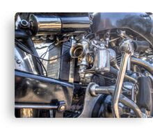 Vincent HRD Engineering Metal Print