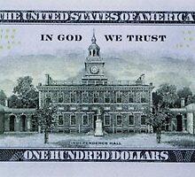 100 Dollar Bill by chujfugh