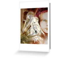 Tokiko Anderson Rose a Beauty Lived and Gone Greeting Card