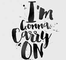 I'm gonna carry on by xart