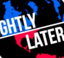 Slighty Lateral World Sticker