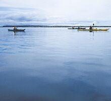 Kayak, Îles-de-la-Madeleine, Québec by guyp