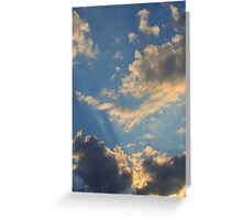 Sunset Clouds 2 Greeting Card