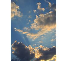 Sunset Clouds 2 Photographic Print