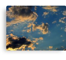 Sunset Clouds 3 Canvas Print