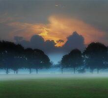 The Clouds Behind The Trees by kelvinLemur