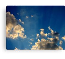 Sunset Clouds 4 Canvas Print