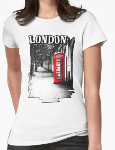 London on the Phone - British Phone Booth T-Shirt