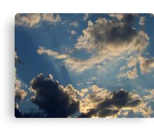 Sunset Clouds 5 Canvas Print