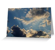 Sunset Clouds 5 Greeting Card
