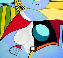 I Love Picasso by Annastaysia Savage