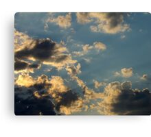 Sunset Clouds 6 Canvas Print