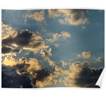 Sunset Clouds 6 Poster