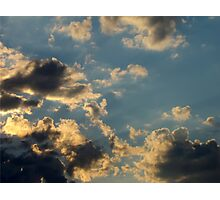 Sunset Clouds 6 Photographic Print