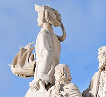 Monument to the discoveries by Bertrand Roessli