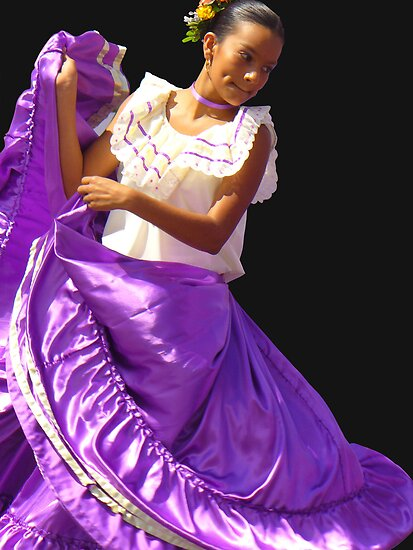 Folklore Dancer, Ciudad Colon, Costa Rica by Guy Tschiderer