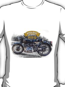 Vincent HRD Black Shadow Motorcycle T-Shirt