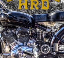 Vincent HRD Black Shadow Motorcycle Sticker