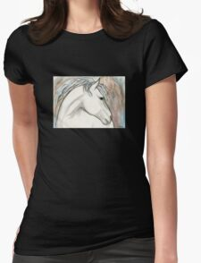 Horse With No Name Womens Fitted T-Shirt