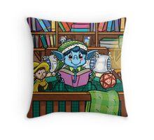Wee Beasties - Wee Goblin Throw Pillow