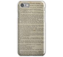 David Copperfield by Dickens iPhone Case/Skin