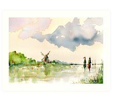 Passing Cloud Art Print