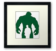 the incredible-monocolor Framed Print