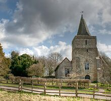 St Margaret Hothfield by Dave Godden