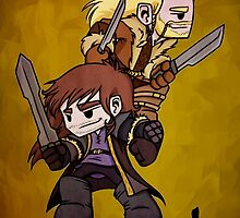 Kili and Fili - Brothers in Arms by JZanderK