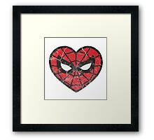 I <3 Spider-man Framed Print