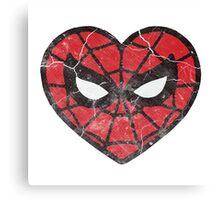 I <3 Spider-man Canvas Print