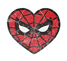 I <3 Spider-man Photographic Print
