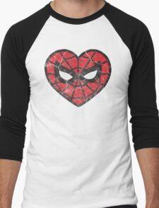 I <3 Spider-man Men's Baseball ¾ T-Shirt