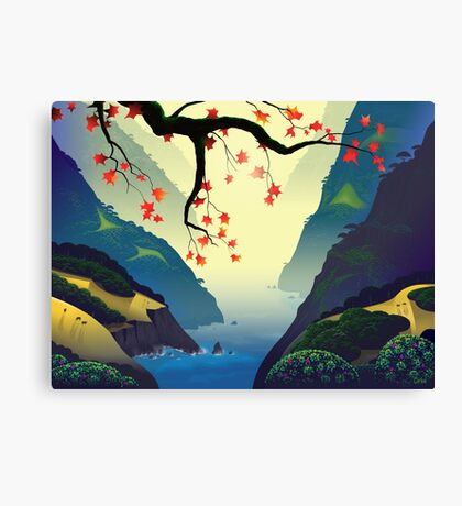 Water Way (full) Canvas Print