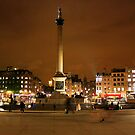 trafalgar square, london by photogenic