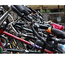 Bicycles in Delft Photographic Print