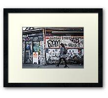 Kensington Stroll Framed Print
