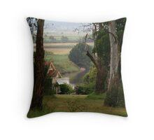 Hunter River Morpeth Throw Pillow