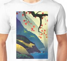 Water Way (left) Unisex T-Shirt