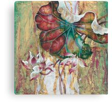 """Dance of the Eastern Wind""  from the series ""In the Lotus Land"" Canvas Print"