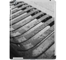 Melancholy Bench iPad Case/Skin