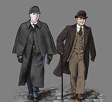 Victorian Sherlock and John by bluebell42