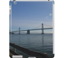 Oakland Bay Bridge, San Francisco iPad Case/Skin