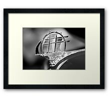 Plymouth hood ornament Framed Print